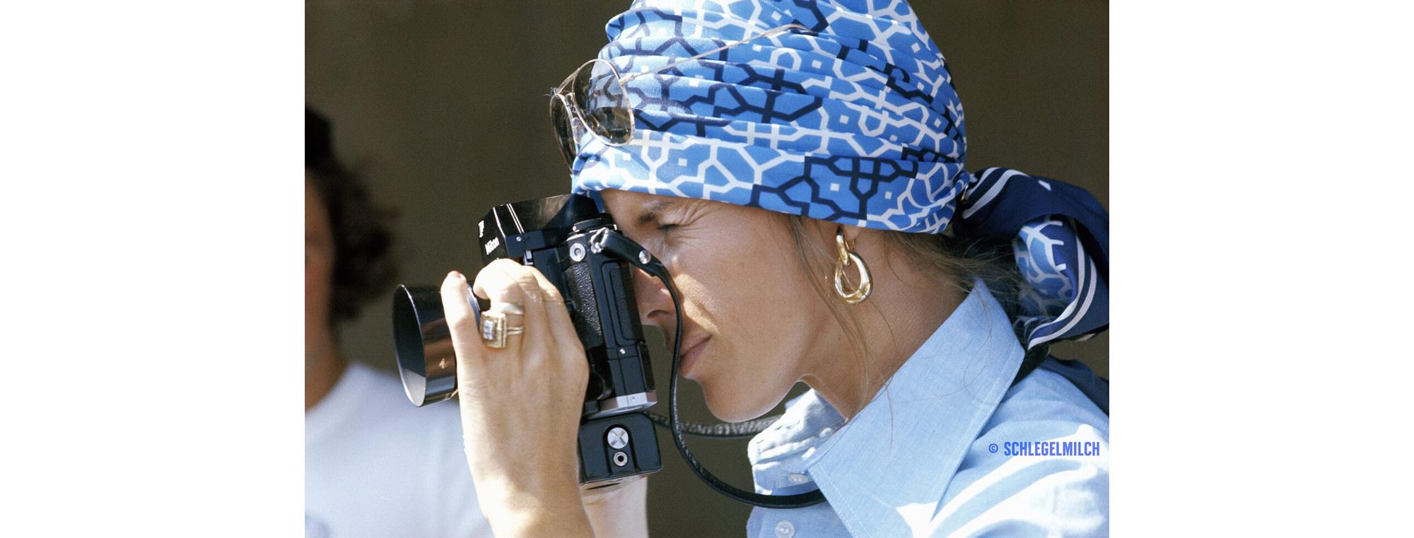 Helen Stewart Austrian GP 1973 now suffering from Dementia